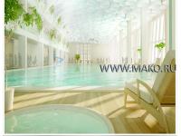 Дизайн  интерьера общественных бассейнов