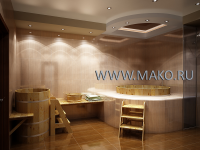 Дизайн японской бани