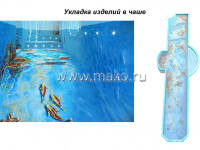 Дизайн бассейна в морском стиле