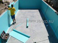 Пленка для бассейнов ПВХ