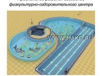 Дизайн общественного бассейна