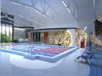 Интерьер общественных бассейнов