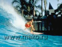 Бассейн с волнами для серфинга