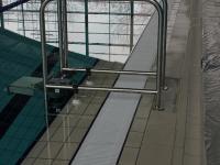 Гидравлический лифт для бассейна